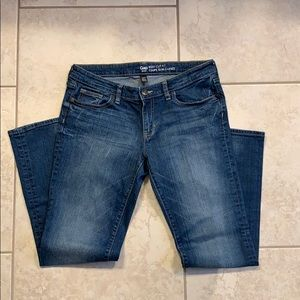 Gap women's boot cut jeans size 10 short